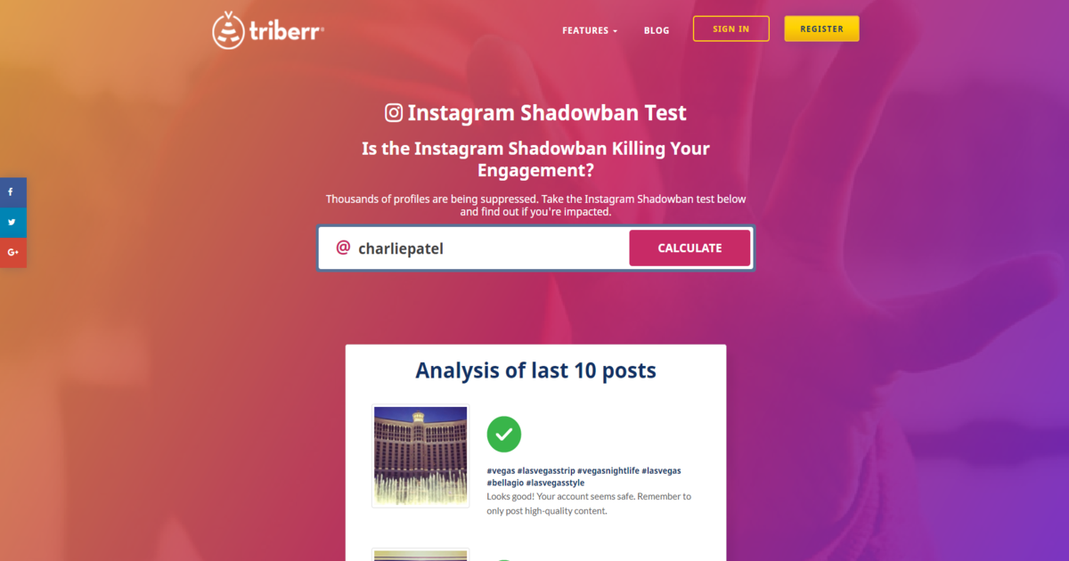 Instagram Shadowban Tester | Triberr